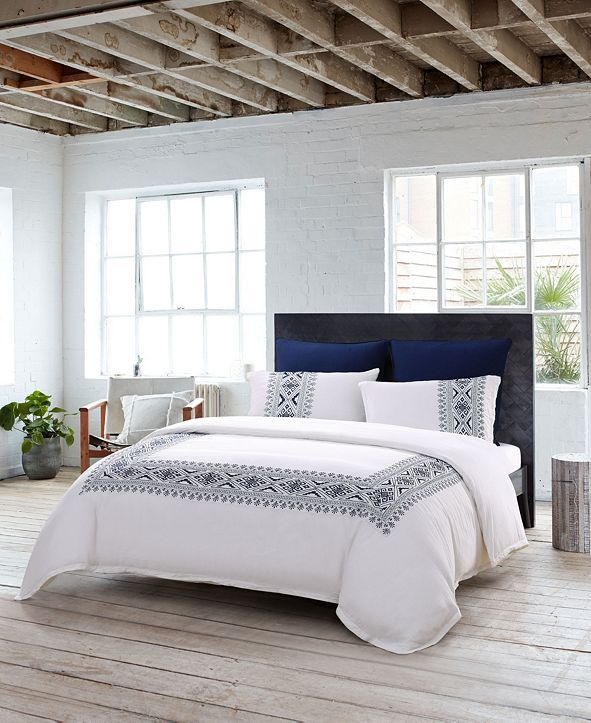 French Connection Sierra 3-Piece Queen Duvet Cover Set