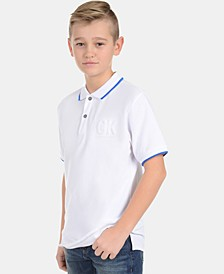 Big Boys Embossed Polo