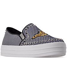 Skechers Women's Double Up - Fly Free Slip-On Casual Sneakers from Finish Line