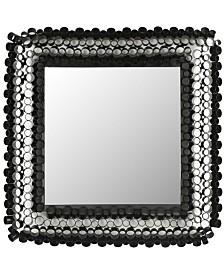 Safavieh Square Tube Mirror in Black