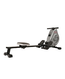 Sunny Health and Fitness SF-RW5728 Air Magnetic Rowing Machine