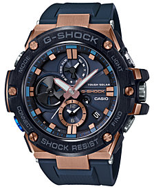 G-Shock Men's Solar Gravitymaster Connected Black Resin Strap Watch 53.8mm