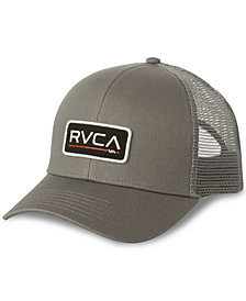 RVCA Men's Logo Graphic Trucker Hat