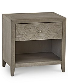 Parquet USB Outlet Nightstand, Created for Macy's