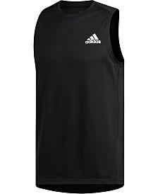 f22b345f1c90a adidas Men s Heathered Tank Top   Reviews - T-Shirts - Men - Macy s