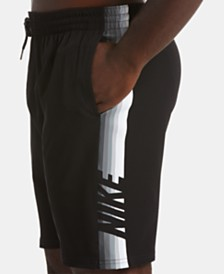 "Nike Men's Big & Tall 9"" Retro Stripe Volley Shorts"