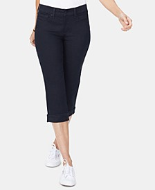 Marilyn Cropped Tummy-Control Jeans