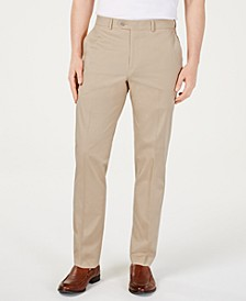 Men's Slim-Fit Stretch Flat Front Dress Pants, Created for Macy's