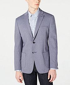 Bar III Men's Slim-Fit Light Blue Knit Sport Coat, Created for Macy's