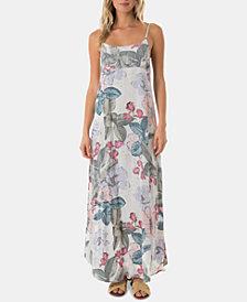 O'Neill Juniors' Koinne Floral-Print Maxi Dress