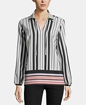 d6d69411b32c Tie Neck Blouse: Shop Tie Neck Blouse - Macy's