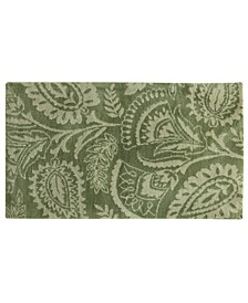 "Cashlon Lilly Green 27"" x 45"" Accent Rug"