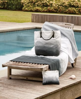 Dip Dye Ombre 100% Cotton Beach Towel
