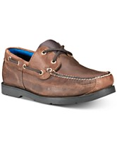 46db79d60fbdb Timberland Men s Piper Cove Leather Boat Shoes