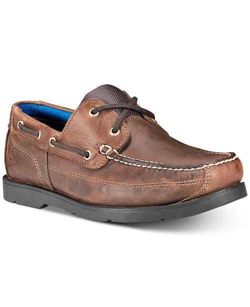7e2ac74e1b Timberland Men's Piper Cove Leather Boat Shoes; Timberland Men's Piper Cove  Leather Boat ...
