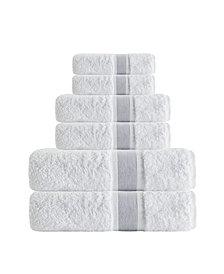 Enchante Home Unique 6-Pc. Turkish Cotton Towel Set