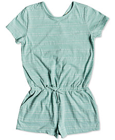 Roxy Big Girls Striped Romper