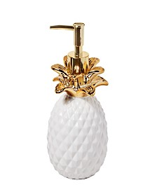 Saturday Knight Ltd. Gilded Pineapple Lotion Dispenser