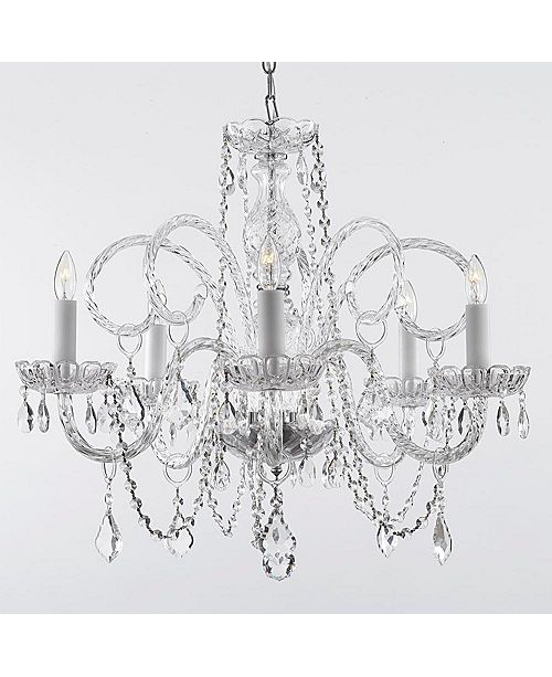 Harrison Lane Empress Crystal 5-Light Chandelier