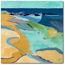 """Seaside Gallery-Wrapped Canvas Wall Art - 16"""" x 16"""""""