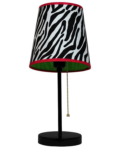 All The Rages Limelight's 	Fun Prints Funky Pattern Table Lamp