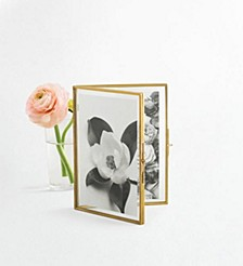 CLOSEOUT! 4x6 Glass Folded Frame, Created for Macy's
