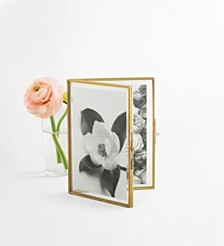 Martha Stewart Collection 4x6 Glass Folded Frame, Created for Macy's
