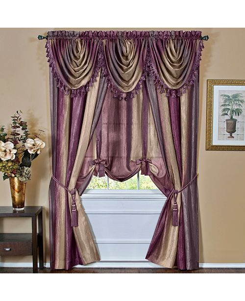 Achim Ombre Waterfall Valance Reviews