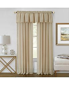 Wallace Window Curtain Valance, 52x14