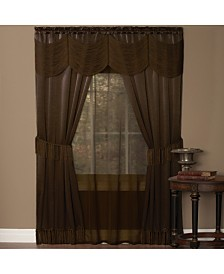 Halley 6 Piece Window Curtain Set, 56x84