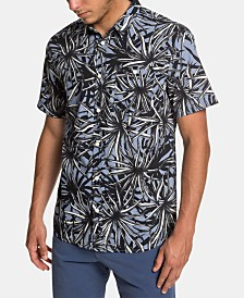 Quiksilver Men's Floral Graphic Shirt