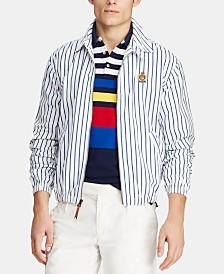 Polo Ralph Lauren Men's Bayport Striped Windbreaker, Created for Macy's