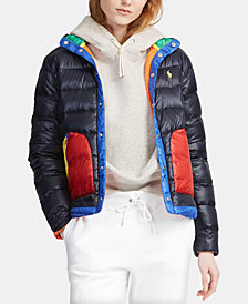 Polo Ralph Lauren Colorblocked Down Jacket