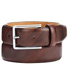 Tasso Elba Men's Multi-Color Belt, Created for Macys