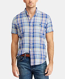 Polo Ralph Lauren Men's Classic-Fit Plaid Shirt