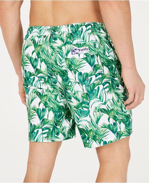 19a089c261 Trunks Surf & Swim Co. Men's Green Palmetto-Print 6