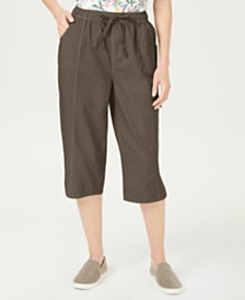 Karen Scott Petite Edna Capri Pants, Created for Macy's