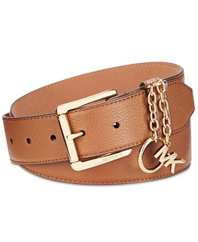 MICHAEL Michael Kors MK Logo Charm Belt