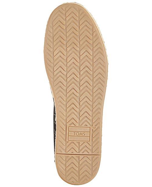 1ac3509642c TOMS Women s Deconstructed Alpargata Slip-On Espadrille Flats ...