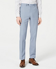 Men's X-Fit Slim-Fit Light Blue Sharkskin Suit Pants
