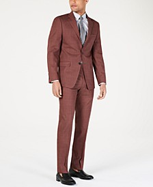 Men's Slim-Fit Stretch Solid Suit Separates