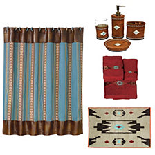 HiEnd Accents 21-Pc. Aztec Bathroom Set
