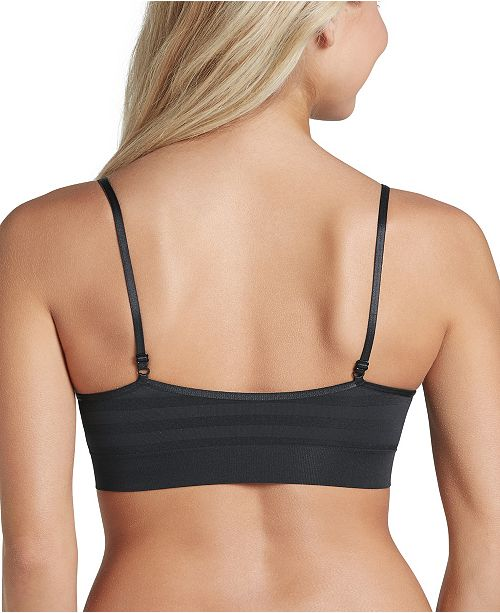 29cebd52923 Jockey Matte and Shine Removable-Cup Bralette 1312