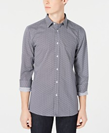 HUGO Hugo Boss Men's Extra-Slim Fit Abstract-Print Shirt