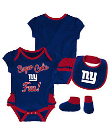 Outerstuff New York Giants Trifecta Set, Infants (0-9 Months)