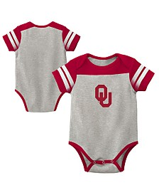 Outerstuff Oklahoma Sooners Lil Blocker 2.0 Creeper, Infants (12-24 Months)