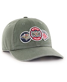 '47 Brand New Orleans Pelicans Diamond Patch CLEAN UP MF Cap