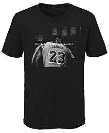Nike LeBron James Los Angeles Lakers Crazy Dream T-Shirt, Big Boys (8-20)