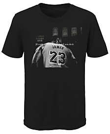 Nike LeBron James Los Angeles Lakers Crazy Dream T-Shirt, Big Boys (8-20)