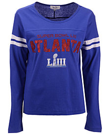 Touch by Alyssa Milano Women's Super Bowl LIII Reflex Raglan T-Shirt